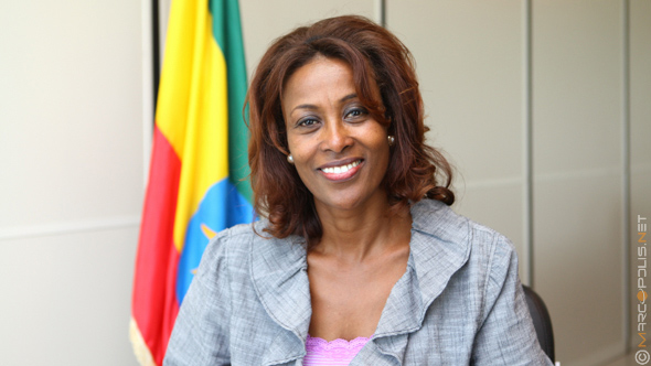 Meaza Ashenafi, Chairperson of Enat Bank