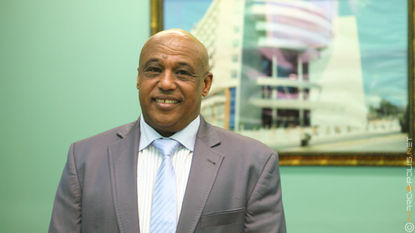 Zenawi Mesfin, General Manager of Intercontinental Addis Hotel