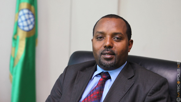 Abie Sano Mehamed, President of Oromia International Bank