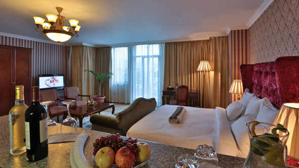 Spacious luxury rooms for long-staying visitors to Addis Ababa | Residence Suite Hotel