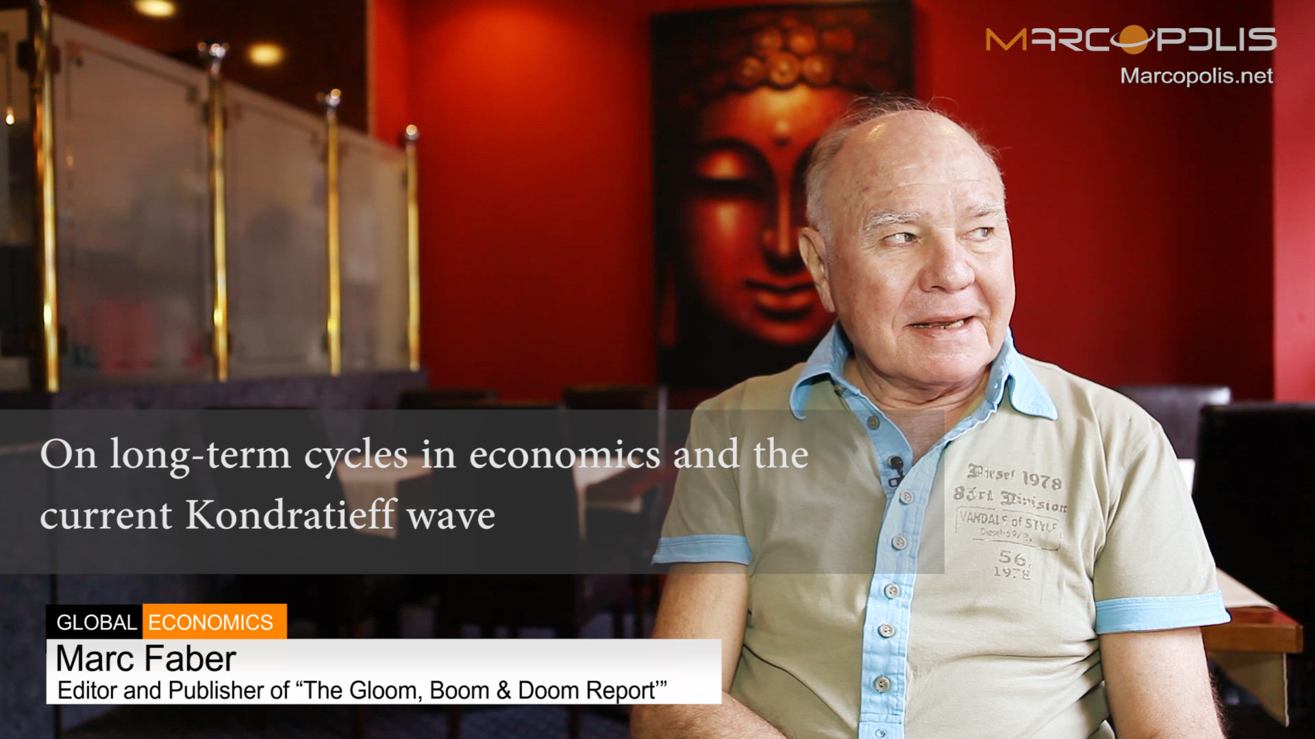 Marc Faber on Kondratieff wave