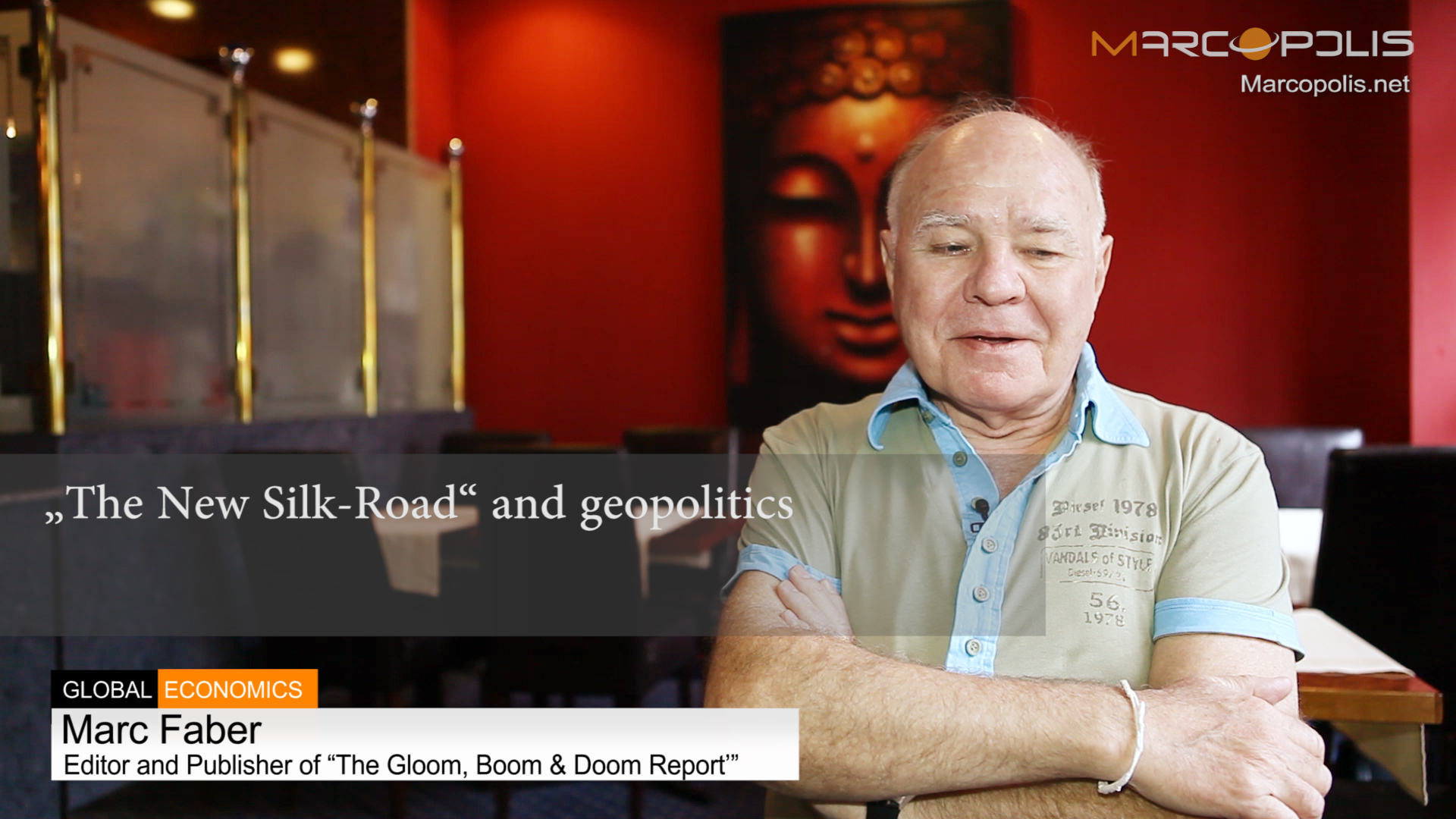 Marc Faber on China new silk road