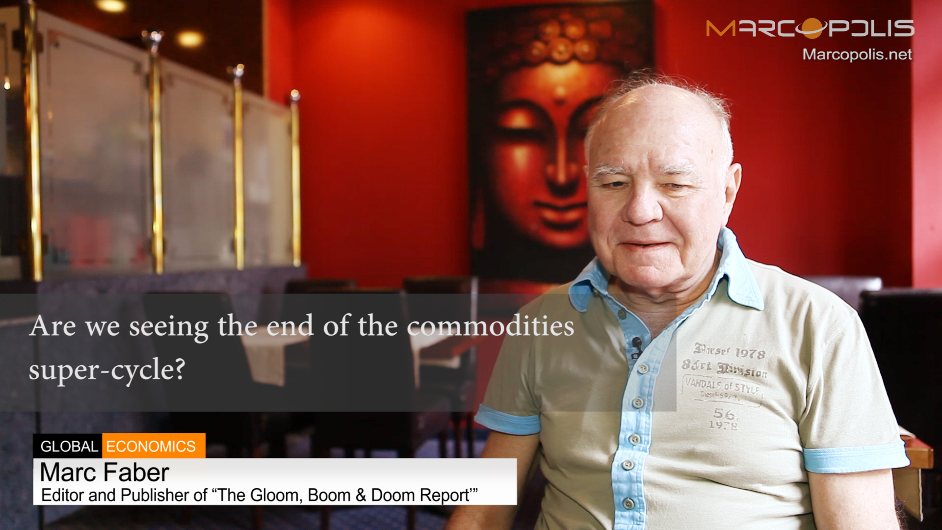 Marc Faber on commodities and commodities-super-cycle