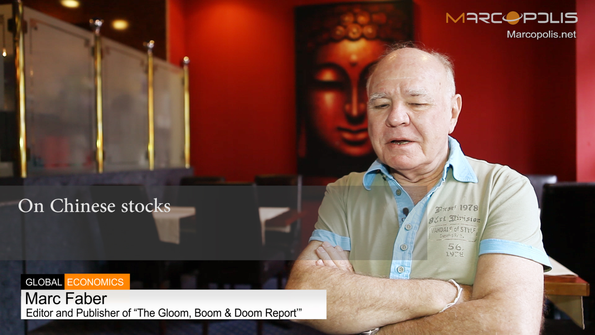 Marc Faber on Chinese stocks