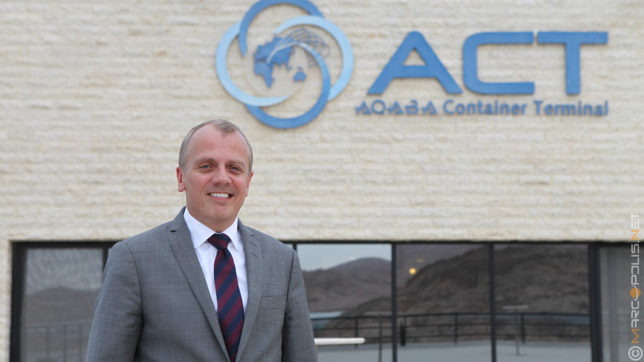Jeppe Nymann Jensen, CEO of Aqaba Container Terminal (ACT)