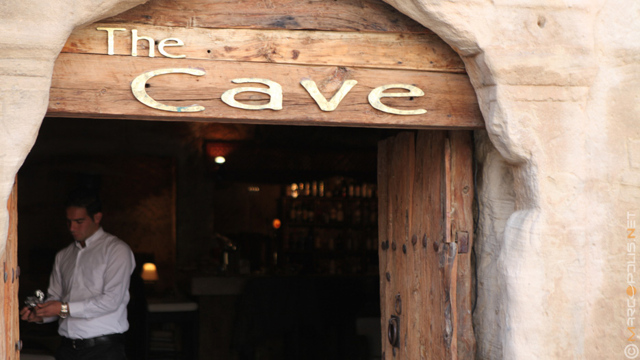 The Cave Restaurant in Petra