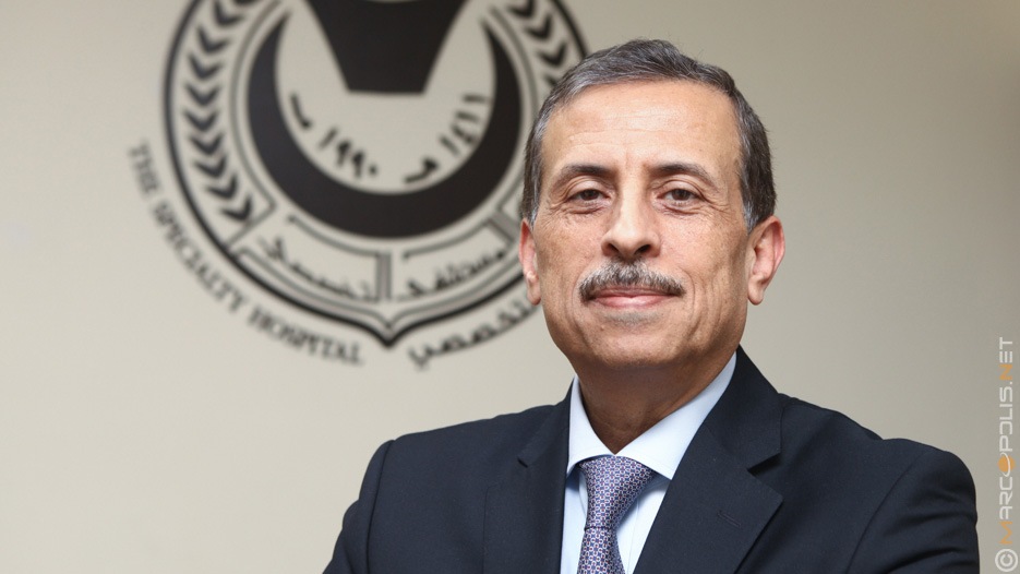 Dr. Fawzi Al-Hammouri, CEO, General Manager of Specialty Hospital