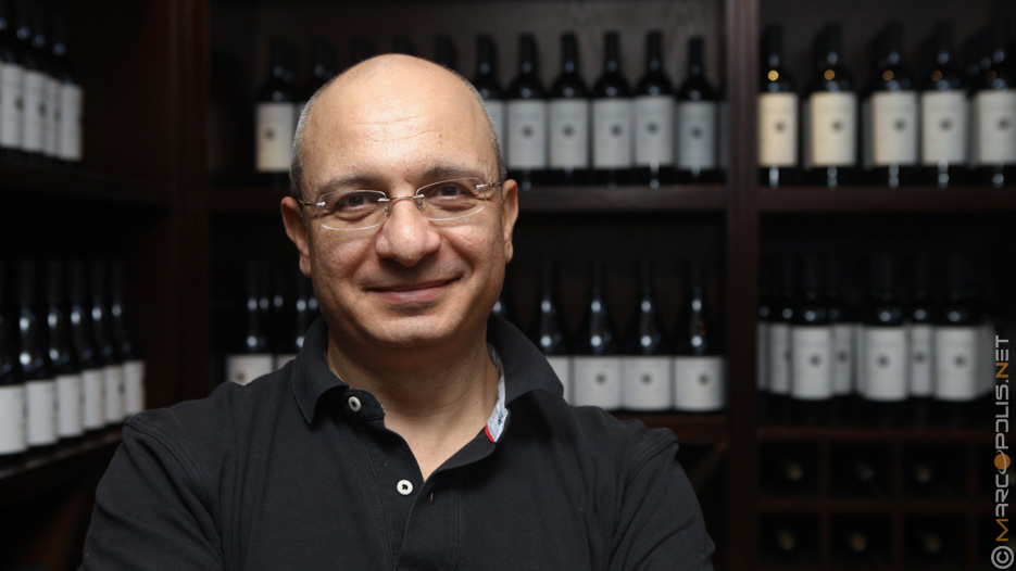 Omar Zumot, the Winemaker at Zumot Wines