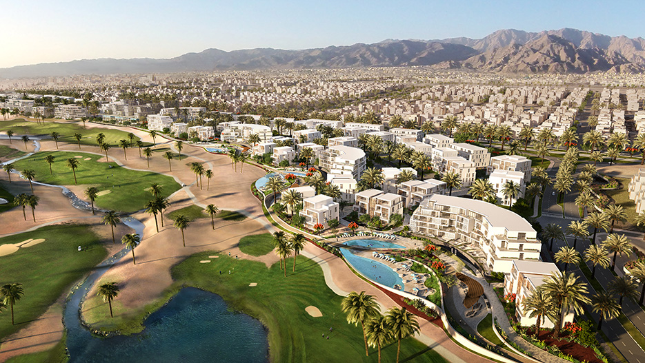 Ayla: A Unique Mixed Use Real Estate Project on the Red Sea