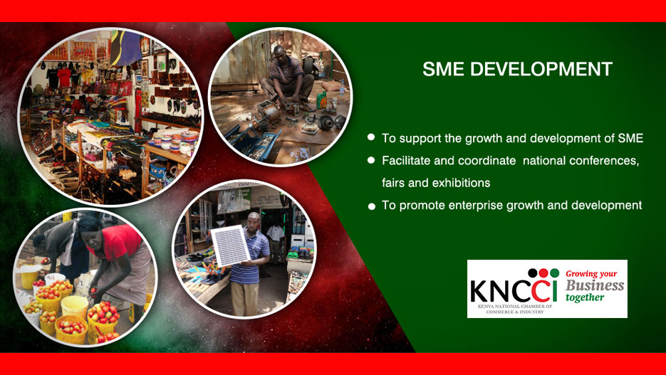 KNCCI offers support to SMEs in Kenya