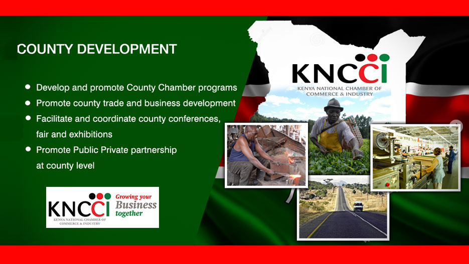 County development is one of KNCCI's priorities