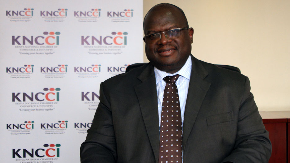 Matanda Wabuyele, CEO of KNCCI