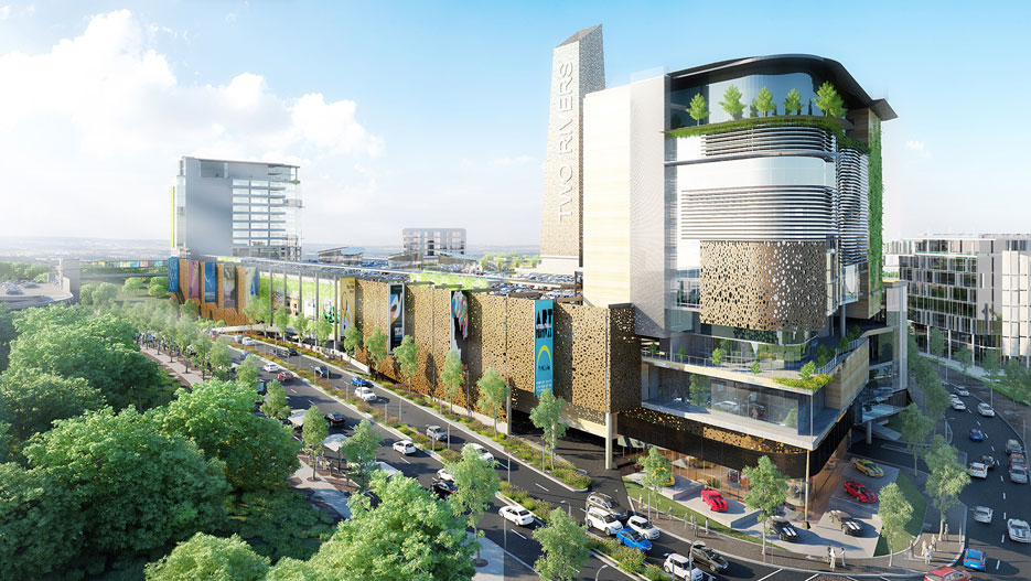A real estate project: the Two Rivers Mall in Nairobi