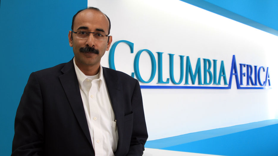 Dr. Sumit Prasad, General Manager of Columbia Africa Healthcare Limited