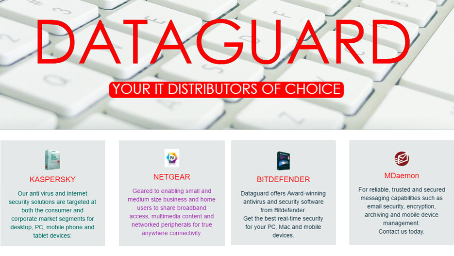 Dataguard: distributor of leading and global IT hardware and software