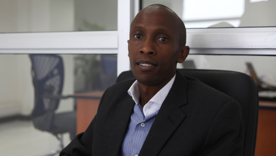 James Kinyua, CEO of Dataguard Distributors and Isolutions