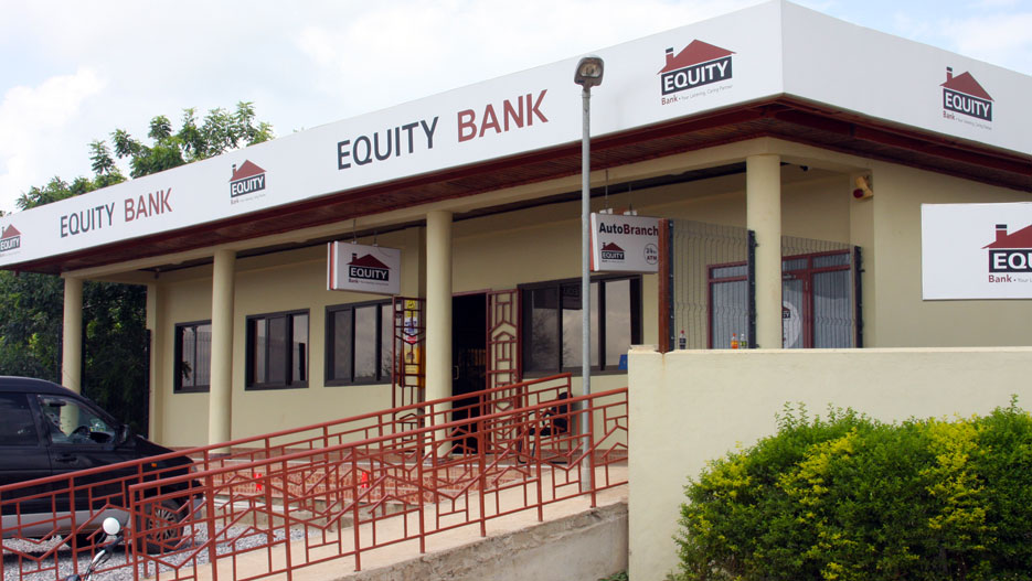An Equity Bank branch