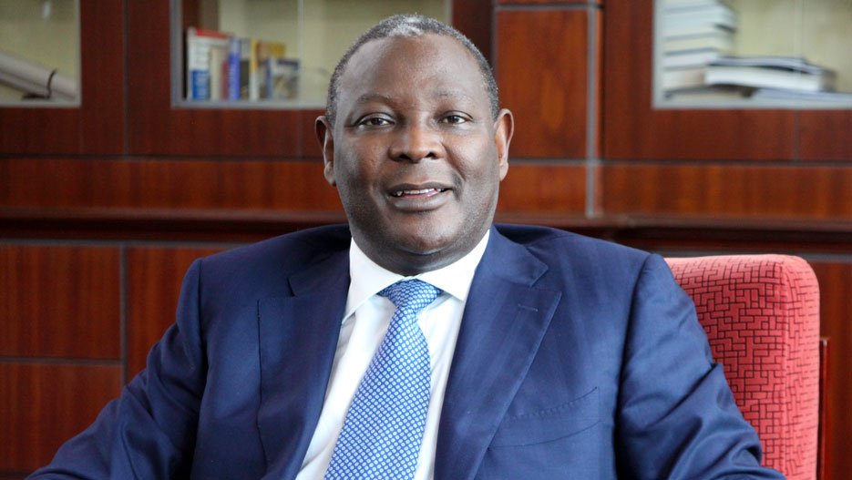 Dr James Mwangi, CEO and Managing Director of Equity Bank