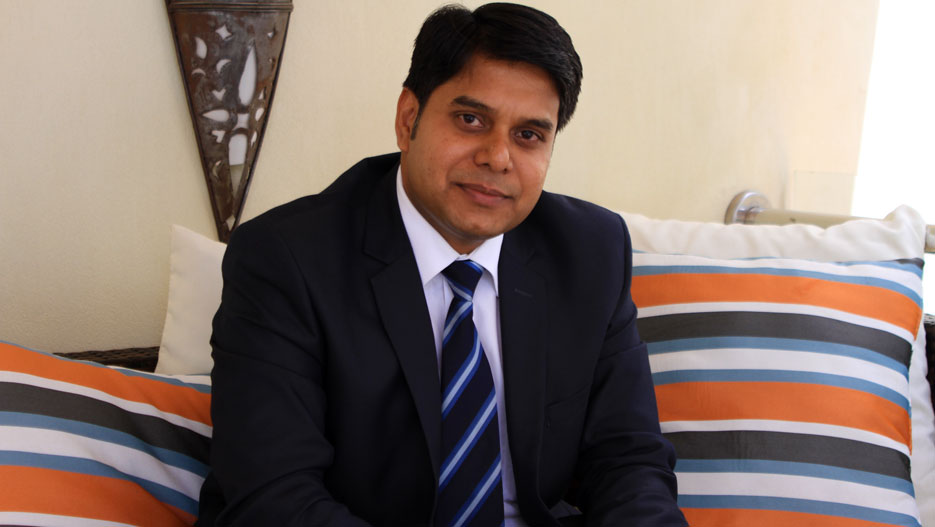 Sanjeev Tiwari, General Manager of The Heron Portico