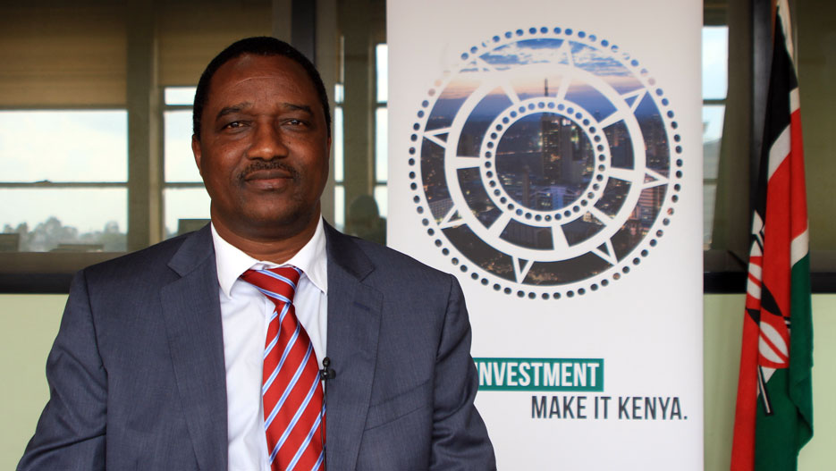 Dr. Moses Ikiara, Managing Director of Kenya Investment Authority (KenInvest)