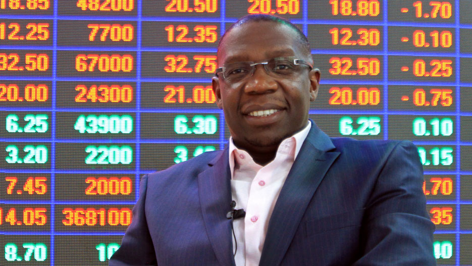 Geoffrey Odundo, Chief Executive of the Nairobi Securities Exchange (NSE)