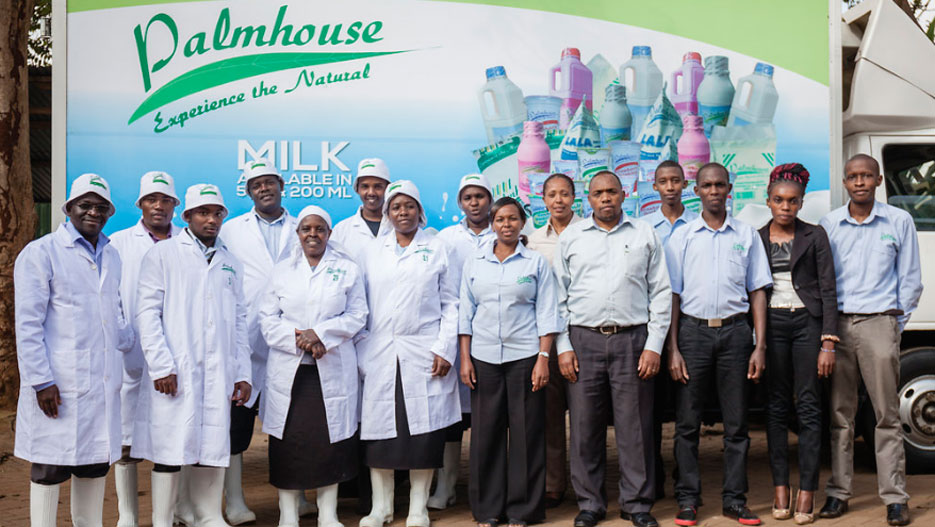 Palmhouse Dairies' vision is to be the leading and preferred provider of dairy products in Kenya