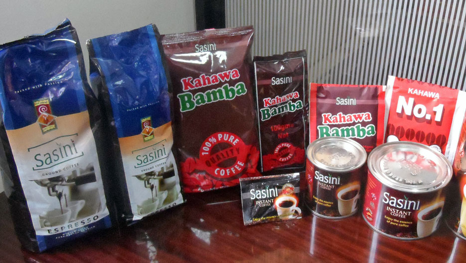 Sasini tea and coffee