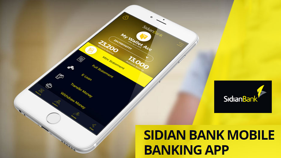 Sidian Bank is a modern bank which is focused on technology