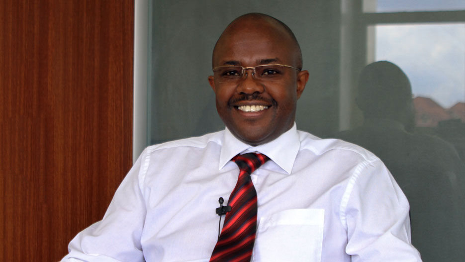 Titus Karanja, CEO of Sidian Bank