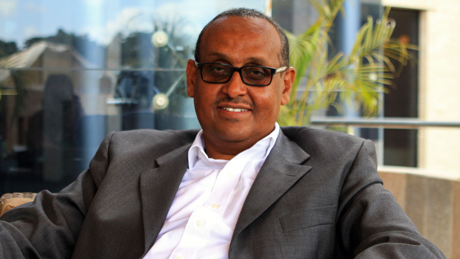 Abdullahi Ali, Chairman and CEO of Simba Investments