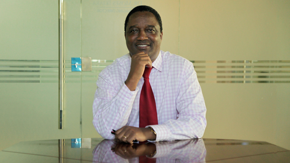 Dr. Moses Ikiara, Managing Director of KenInvest (Kenya Investment Authority)