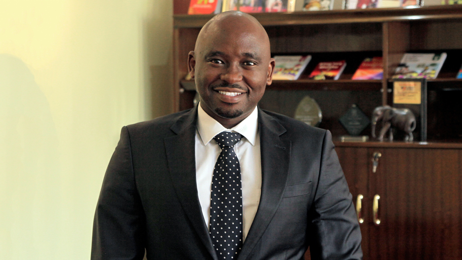 Maxwell Wahome, Group Managing Director for Longhorn Publishers PLC