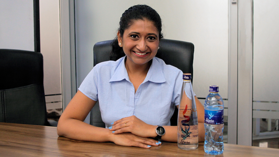 Jigna Patel, Director of Ozone Beverages Ltd