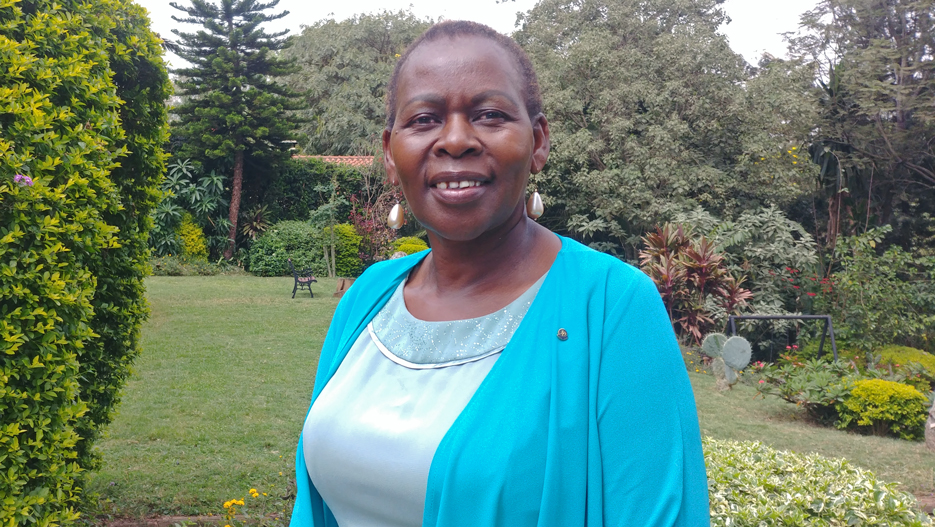 Margaret Munene, Managing Director of Palmhouse Dairies Ltd