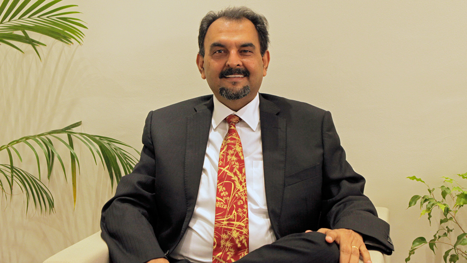 Berjeesh Surty, Chairman and Managing Director of SpenoMatic Group