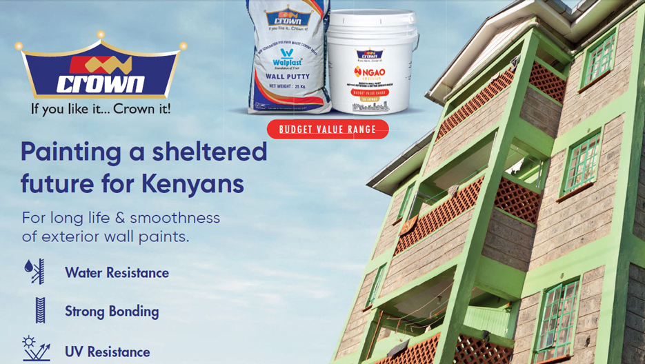 Crown Paints: 60 Years of Experience Leading the Paint Sector in Kenya