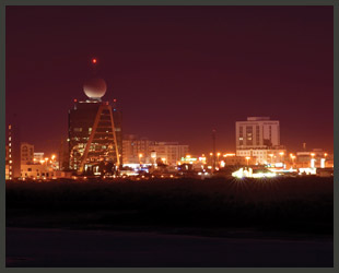 Ras Al Khaimah at night