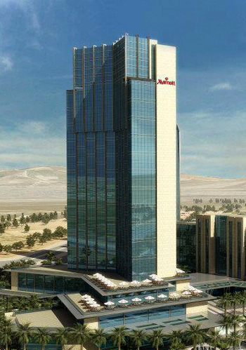 Marriott Hotel as a part of Empire World in Erbil (Kurdistan region)
