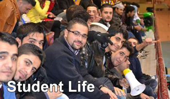 students at AUIS American University of Iraq, Sulaimani