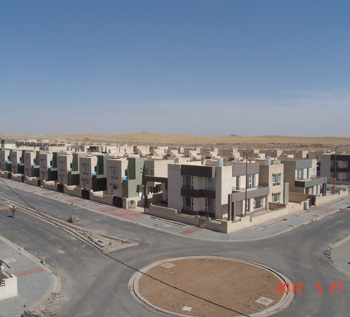 Azadi Residential Village from greater perspective