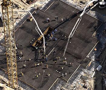 Falcon Group Iraq: construction