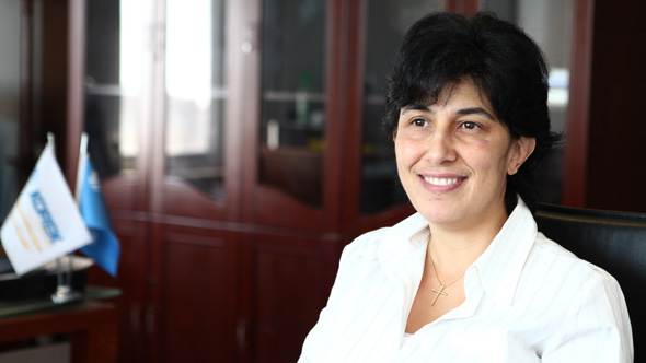 Ghada Gebara, CEO of Korek Telecom