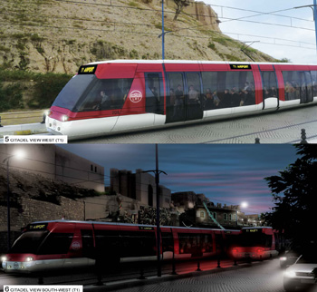 Public transport in Erbil - tramway project