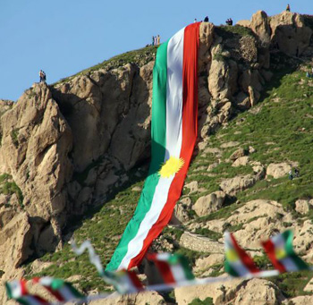 Flag of Kurdistan Region