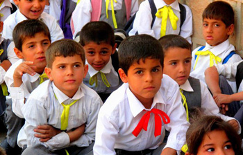 students in Kurdistan Region