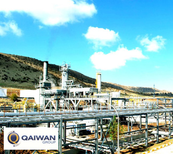 Qaiwan Group Refinery in Sulaymaniyah