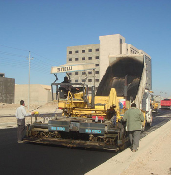Heavy Construction Machines owned by Salaei Group (Kurdistan region of Iraq)