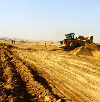 100 Meter Ring Road in Erbil, Construction by Senk Group