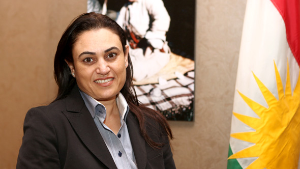 Doaa Amin, General Manager of Tangram Hotel (Erbil)