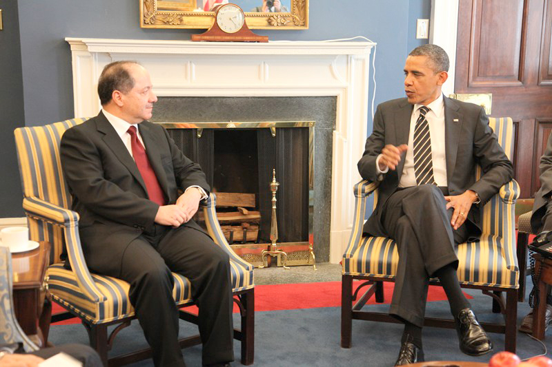 Obama and Barzani